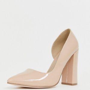 7b52612fa3c ASOS DESIGN Wide Fit Walter d'orsay high heels NWT